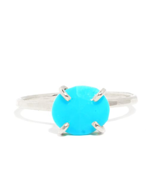 Melissa Joy Manning | Blue Turquoise Prong Set Ring | Lyst