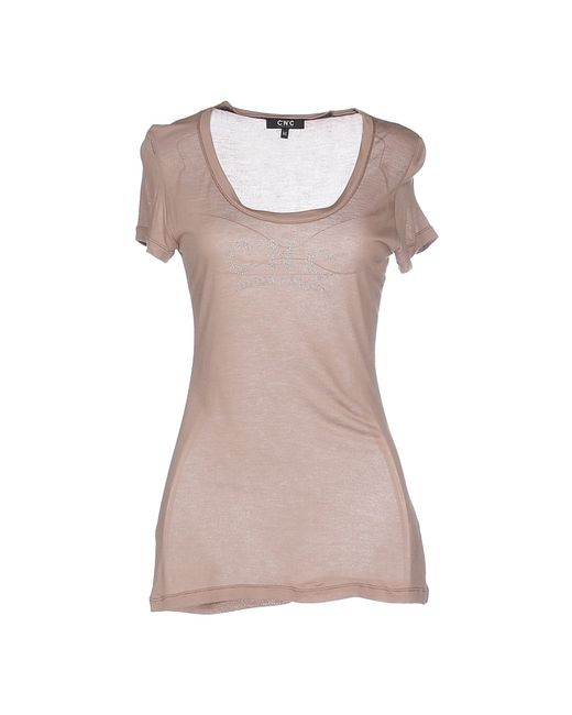 CoSTUME NATIONAL | Brown T-shirt | Lyst