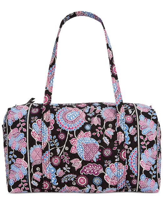 Vera Bradley Large Duffle Bag In Floral (Alpine Floral)   Lyst