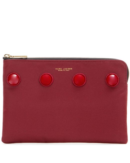 Marc Jacobs | Red Embellished Clutch | Lyst