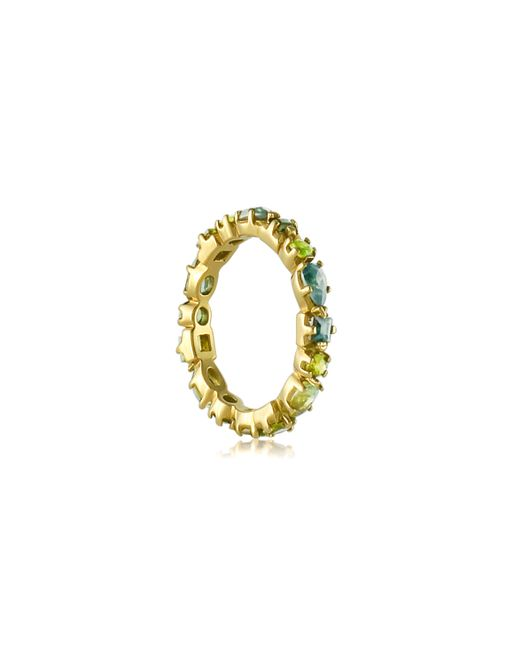 Emily & Ashley | Blue and Green Multi Sapphire Band | Lyst