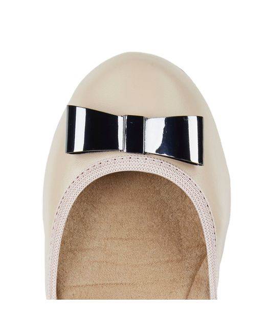 Butterfly Twists | Natural Chloe Ballerina Shoes | Lyst