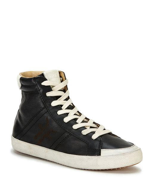 Frye | Black Dylan High Top Sneakers | Lyst