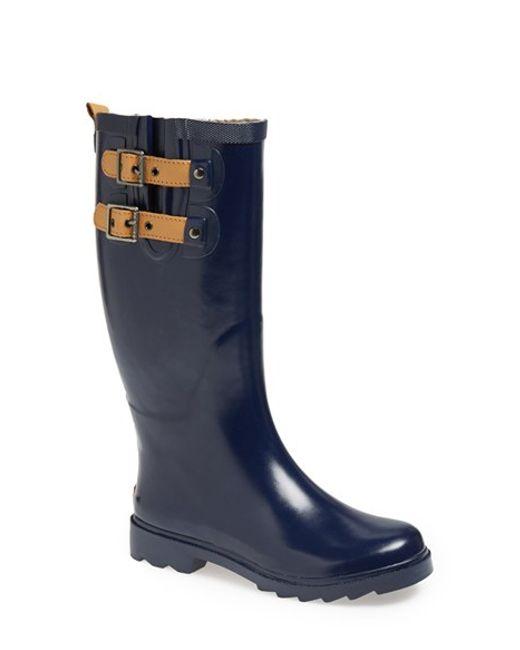 Chooka | Blue 'top Solid' Rain Boot | Lyst