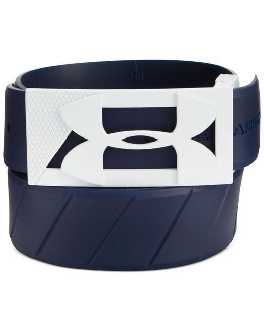 Under Armour | Blue Men's Silicone Golf Belt for Men | Lyst
