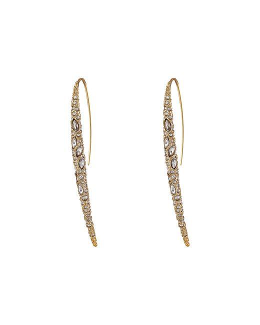 Alexis Bittar   Metallic Encrusted Spear W/ Infinity Wire Earrings   Lyst