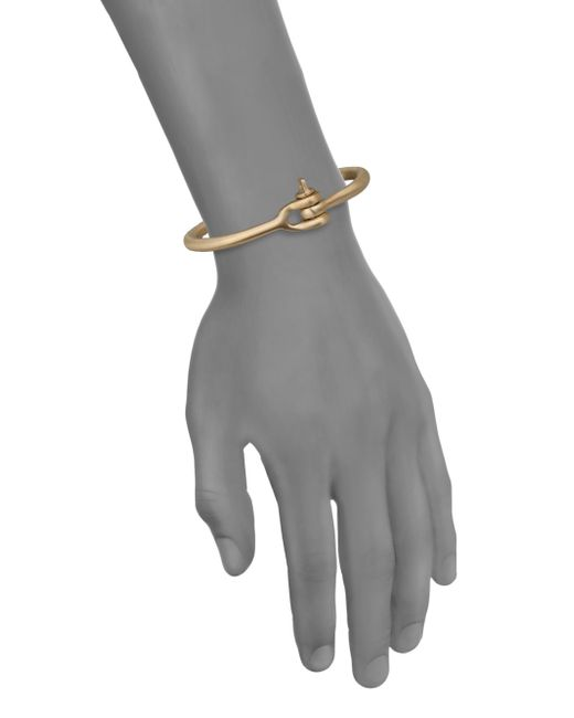 Miansai | Metallic Reeve Brass Cuff Bracelet for Men | Lyst