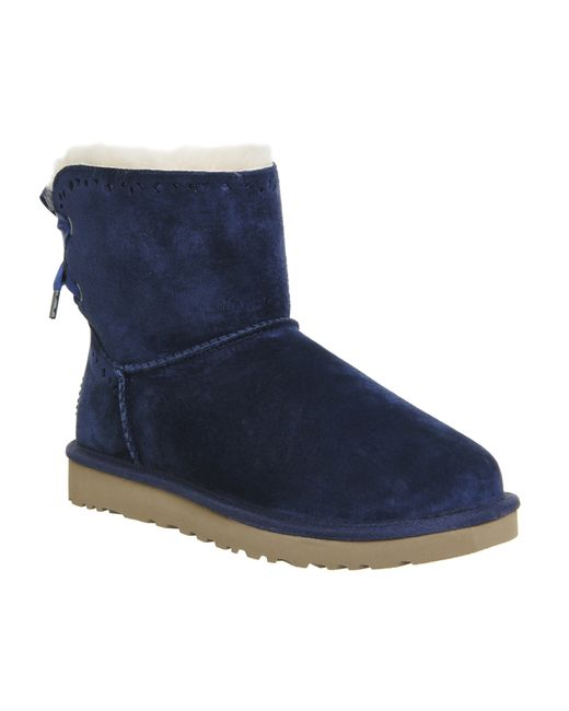 navy blue ugg boots womens shoes