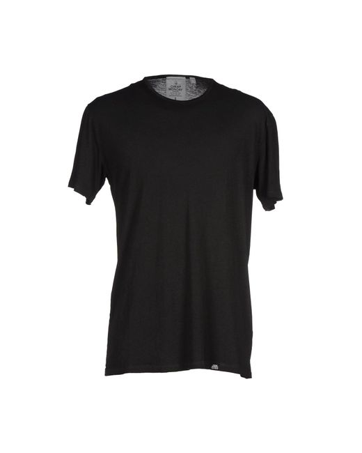 Cheap Monday | Black T-shirt for Men | Lyst