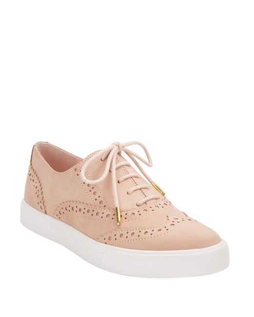 Kate Spade   Pink Catlyn Leather Sneakers   Lyst