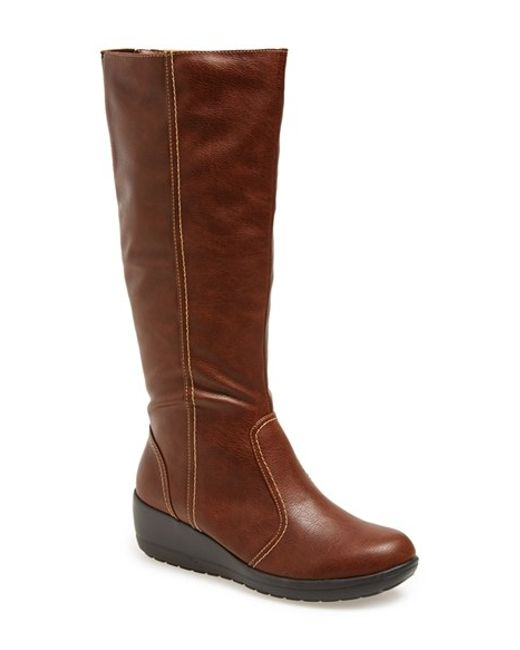 Softspots | Brown 'carla' Boot | Lyst