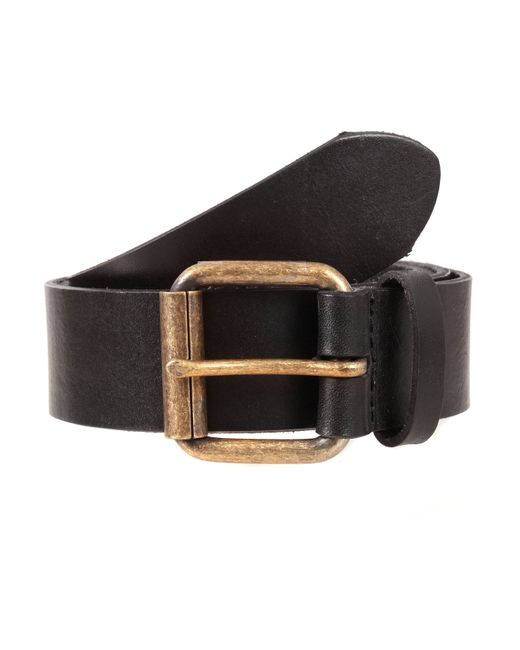dents mens leather belt in blue for navy lyst