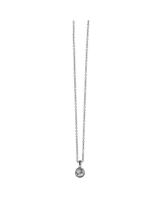Dyrberg/Kern | Metallic Dyrberg/kern Ette Round Swarovski Crystal Pendant Necklace | Lyst