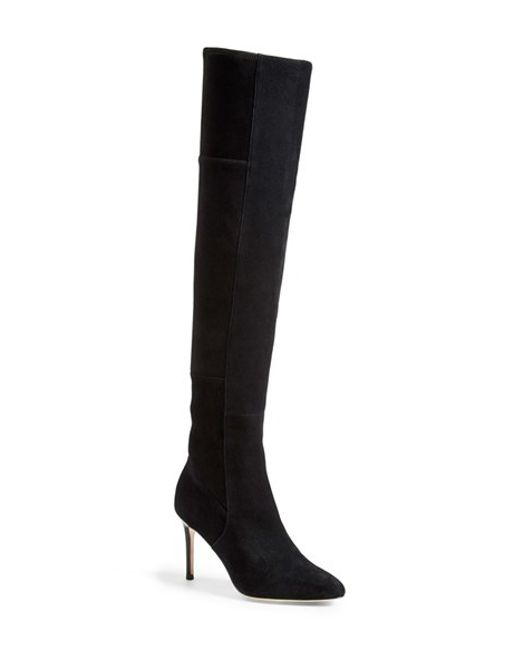 Cole Haan | Black 'Marina' Over The Knee Boot | Lyst