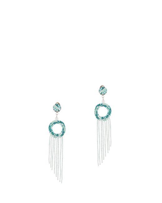Missoni   Green Fringed Earrings   Lyst
