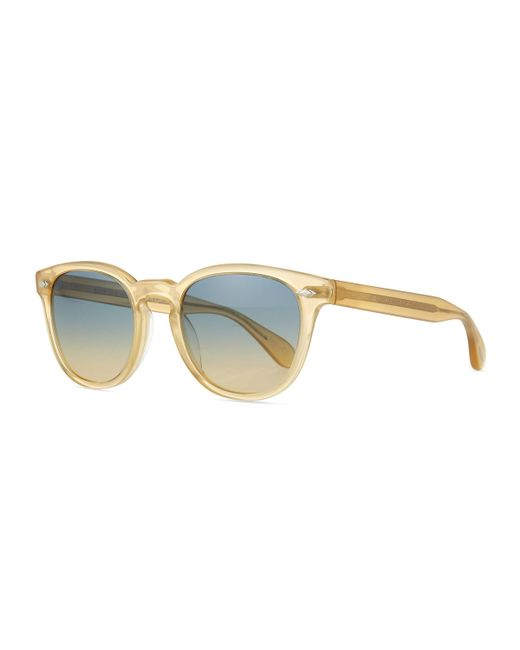 Oliver Peoples | Yellow Sheldrake Plus Square Plastic Sunglasses | Lyst