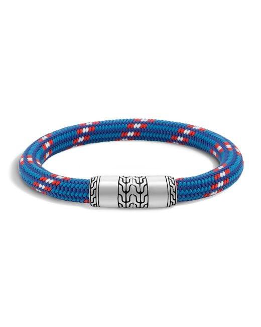 John Hardy | Blue Men's Classic Chain Multicolor Cord Bracelet for Men | Lyst
