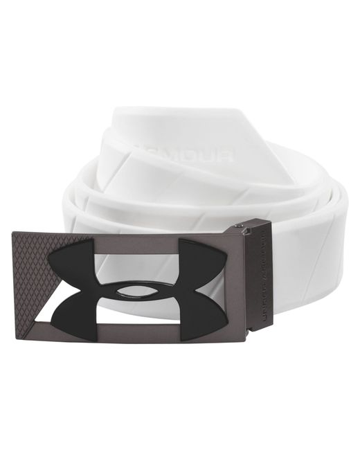 Under Armour | White Silicone Belt for Men | Lyst