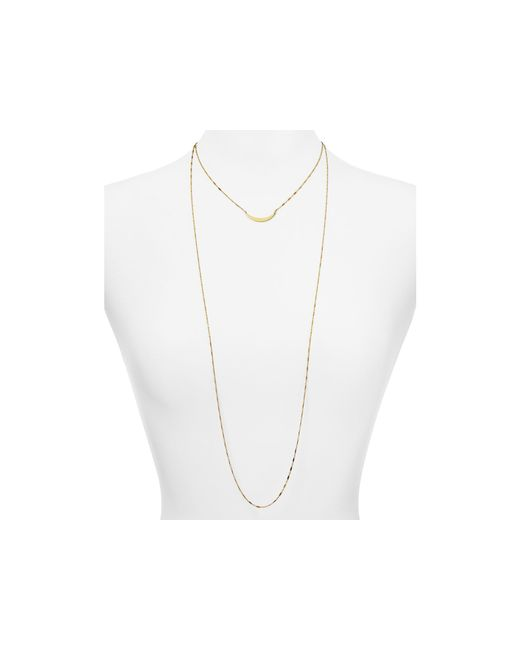 Jennifer Zeuner | Yellow Pippa Necklace, 16"