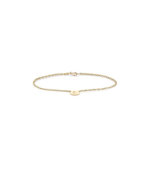 Jennifer Meyer | Multicolor Initial e Disc Bracelet | Lyst