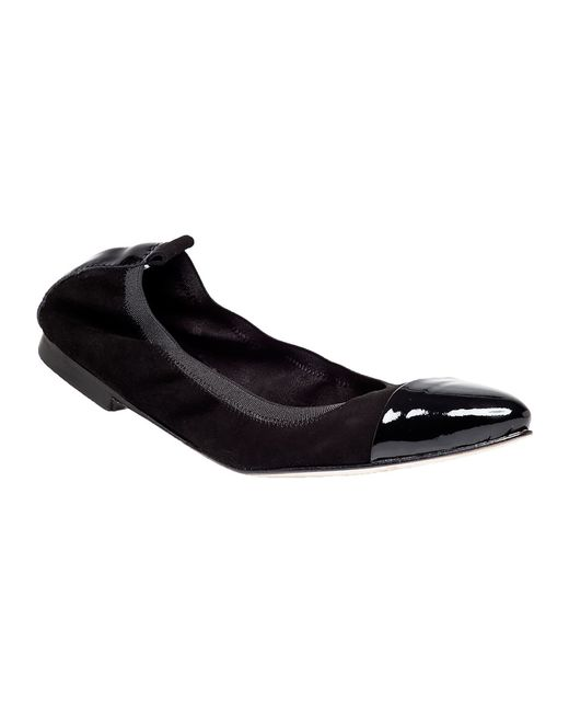 275 Central | Black H062 Suede Flats | Lyst