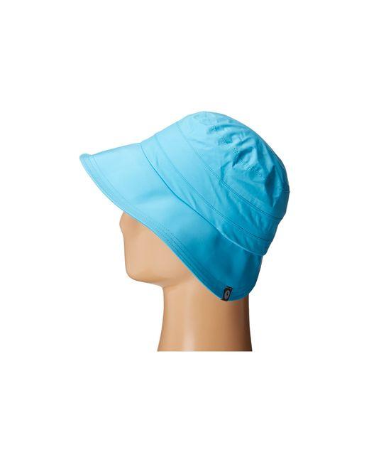 Marmot | Blue Precip Petal Hat | Lyst