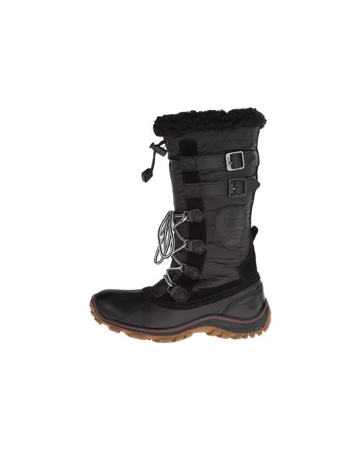 Pajar | Louise Snow Boot Black Fabric | Lyst
