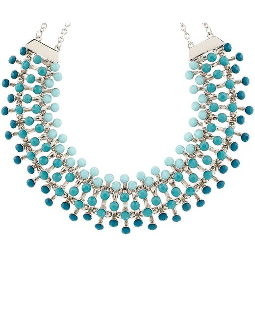 Hobbs | Blue Melina Necklace | Lyst
