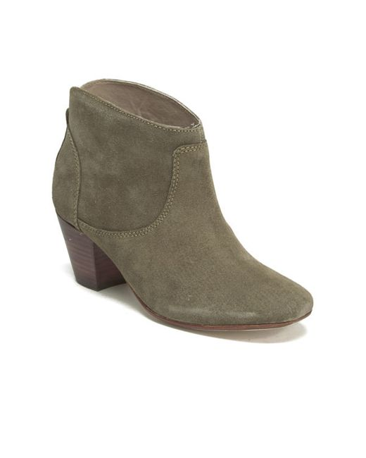 h by hudson s kiver suede heeled ankle boots in