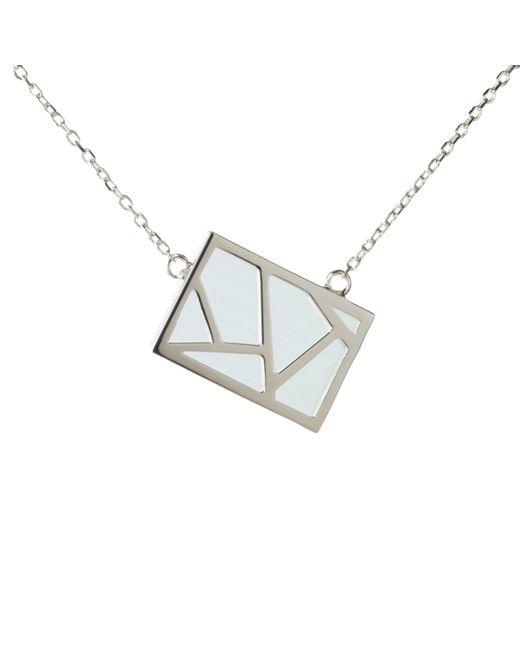 Ona Chan Jewelry | Lattice Necklace Blue | Lyst