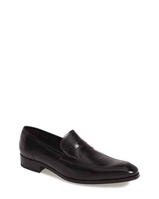 To Boot   Black 'moore' Penny Loafer for Men   Lyst