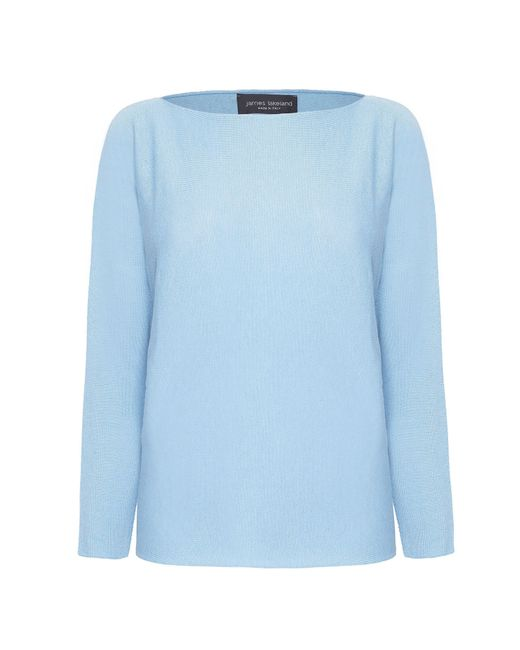 James Lakeland | Blue Boat Neck Knitwear | Lyst