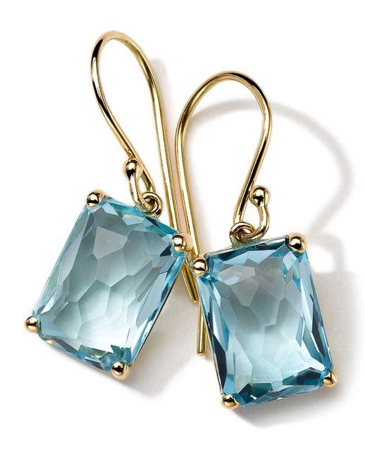 Ippolita | Blue 18k Gold Rock Candy Gelato Topaz Earrings | Lyst
