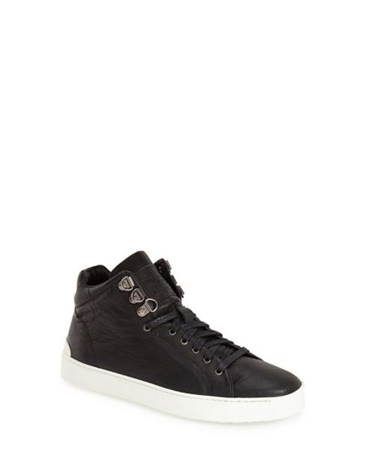 Rag & Bone | Black 'kent' High Top Sneaker | Lyst