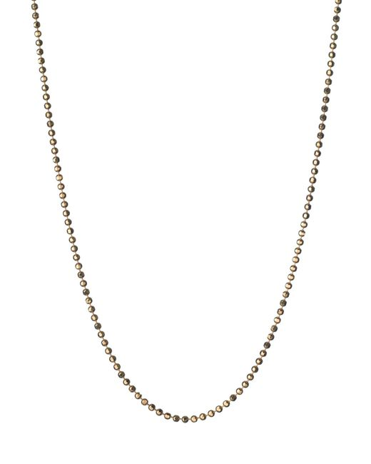 Links of London | Metallic Facetted Gold Ball Chain 41, 45cm | Lyst