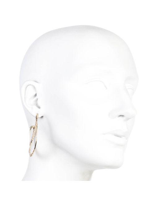 Alexis Bittar | Metallic Encrusted Orbiting Hoop Earring You Might Also Like | Lyst