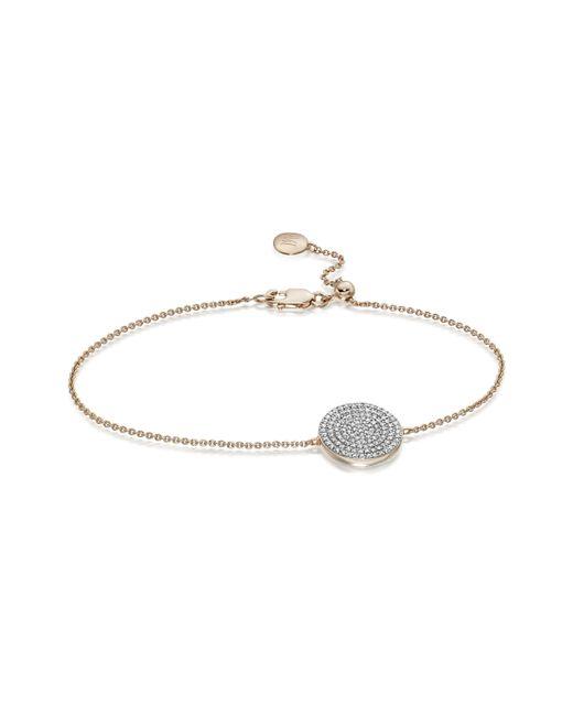Monica Vinader | Pink Ava Disc Bracelet | Lyst