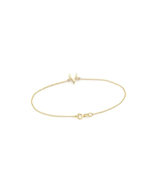 Jennifer Meyer | Metallic Wishbone Bracelet | Lyst