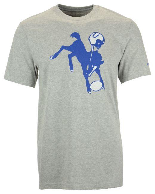 Nike Men 39 S Short Sleeve Indianapolis Colts Retro T Shirt