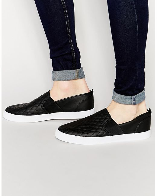 Slip On Quilt Shoes