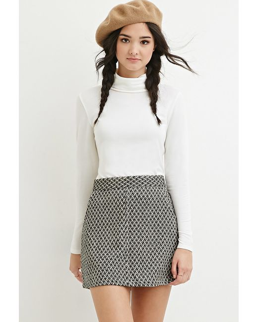Forever 21 | White Classic Turtleneck Top | Lyst