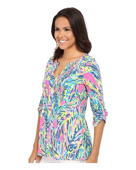 Lilly Pulitzer | Multicolor Upf 50+ Vero Tunic | Lyst