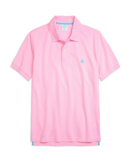 Brooks Brothers | Pink Golden Fleece® Slim Fit Performance Polo Shirt for Men | Lyst