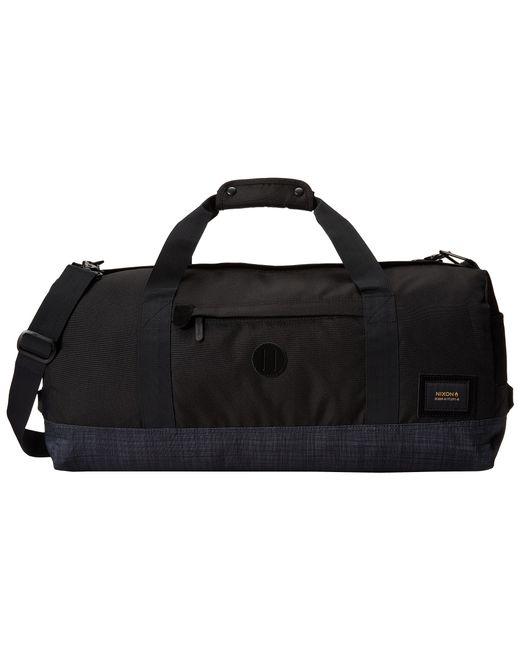 Nixon | Black Pipes Duffle Bag for Men | Lyst