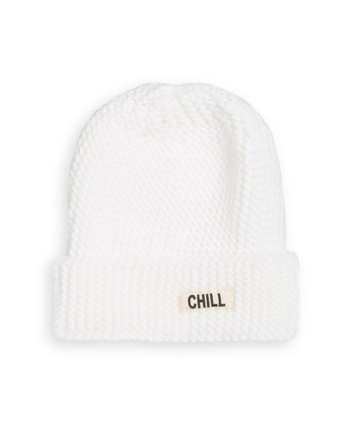 Saks Fifth Avenue | White Chill Out Knit Beanie | Lyst