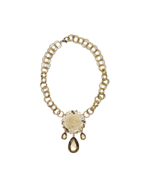 Erickson Beamon | Metallic Necklace | Lyst