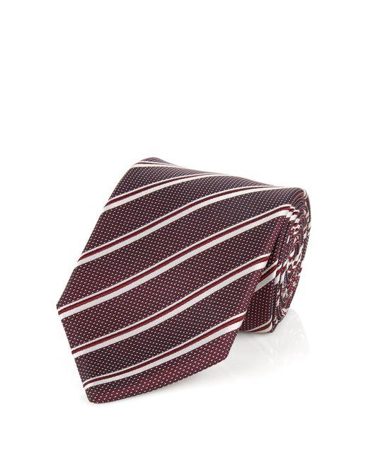 BOSS Red 'tie 7.5 Cm' | Regular, Silk Stripe Tie for men