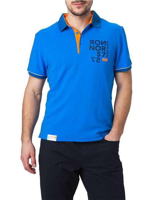 Helly Hansen | Blue Hp Quick-dry Racing Polo for Men | Lyst