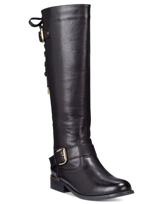 Wanted | Black Lounge Lace-up Riding Boots | Lyst