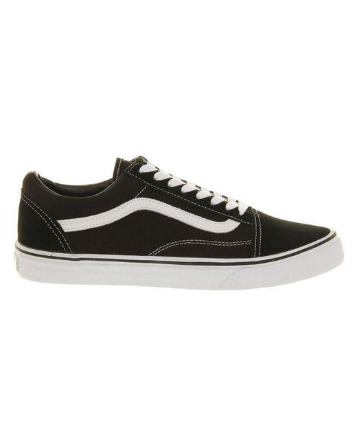 727f8329d08 Vans Old Skool Trainers In Black Vd3hy28